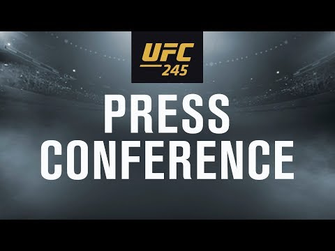 UFC 245: Usman vs. Covington Press Conference