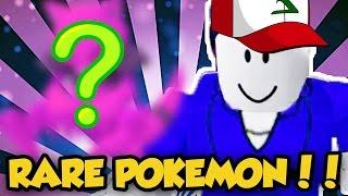 SUPER RARE POKEMON! / Roblox Adventures / Pokemon Brick Bronze