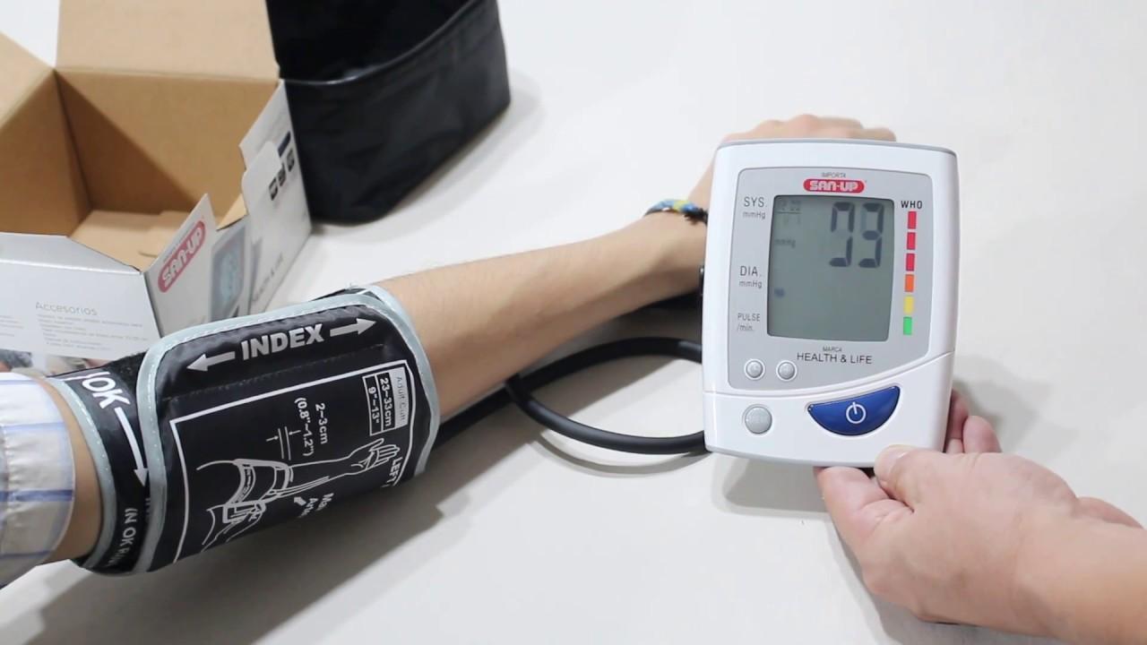 como se mide la presion con tensiometro digital