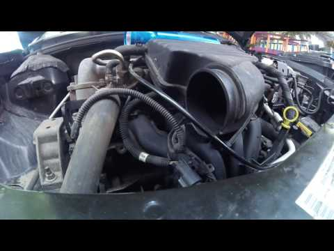 Saturn Ion alternator 2004 test and replacement