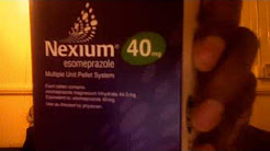 Nexium 40mg tables 1 daily. gastritis and gastric ulcers