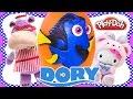 Enorme Huevo Sorpresa De DORY ✰ Buscando A Dory La Pelicula Hello Kitty Doc McStuffins Play Doh