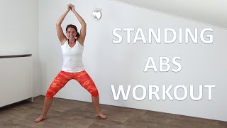 Standing Abs Workout – 10 Minutes of Standing Only Abs Exercises