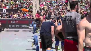 2012 CrossFit Games - Bar Muscle-up/Chipper: Team, Heat 1