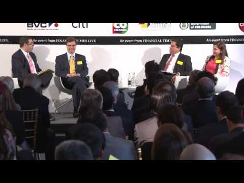 3. Investing in the New Colombia Summit - Panel Discussion One