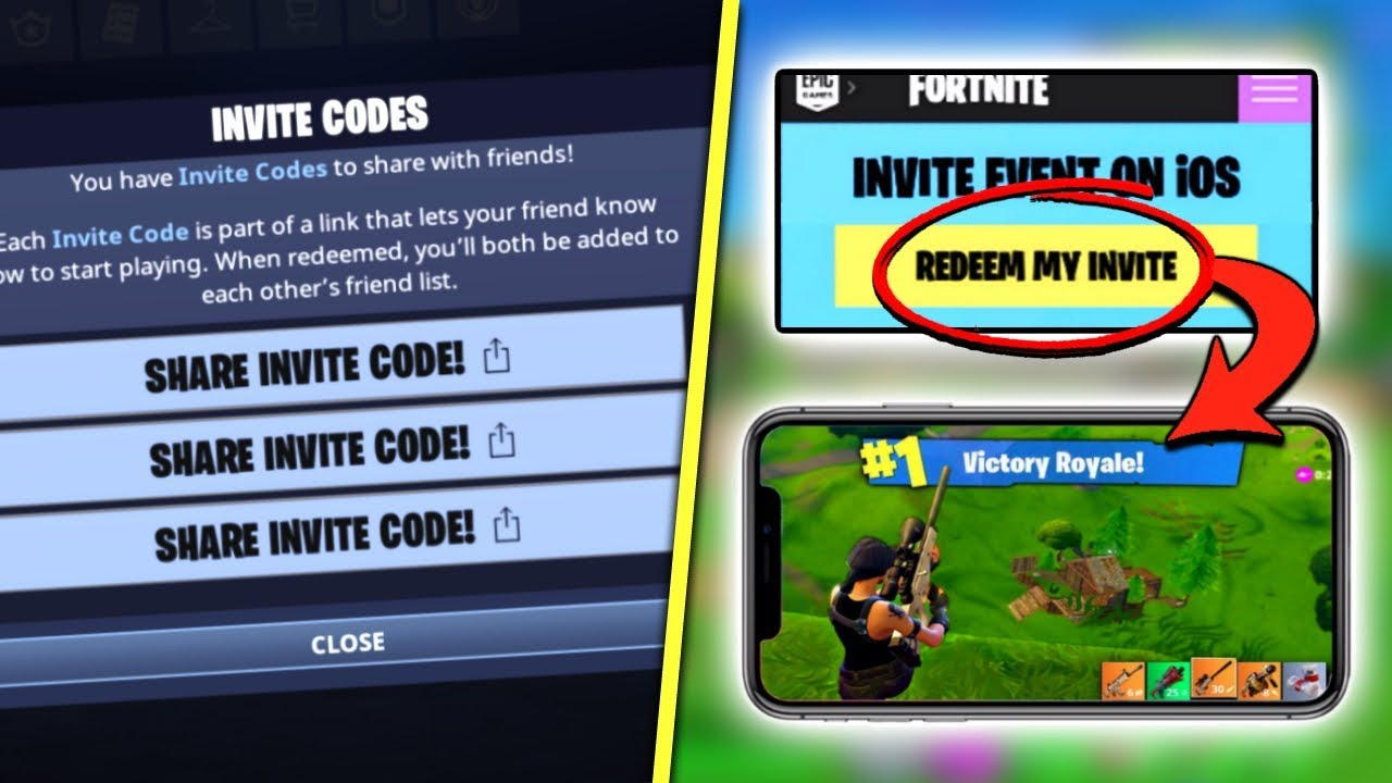 Fortnite Mobile FREE Download Codes! (Share Yours) - YouTube