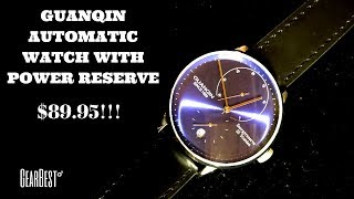 Guanqin - Nice Automatic Watch With Power Reserve - Very Affordable