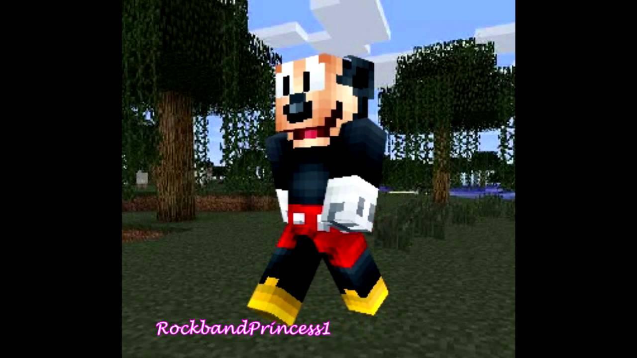 Cute Minnie Mouse Wallpaper Best Minecraft Skins Minecraft Cartoon Character