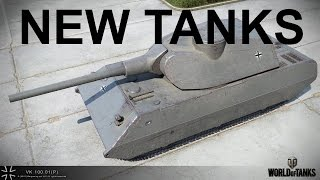 World of Tanks - NEW German Super-heavy Tanks! - Stats & Preview