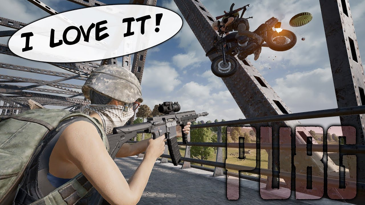 This Is Why I LOVE PUBG! (Playerunknown's Battlegrounds) thumbnail