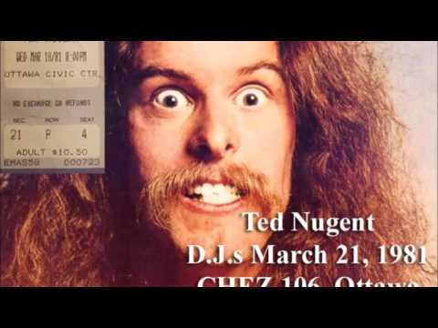 Ted Nugent DJs March 21, 1981 - Ottawa