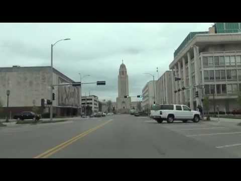 Car Camera - Lincoln, NE - Lied Center to Centennial Mall South . 2014 ( ネブラスカ州リンカーン )