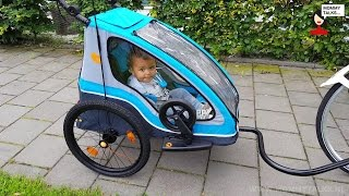 Yepp Trailer Solo fietskar review door Mommytalks