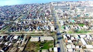 Мой любимый город Каховка с птичего полета на квадрокоптере