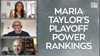 Georgia Alum & ESPN Analyst Maria Taylor Joins The Steam Room To Discuss The NBA Playoffs And More