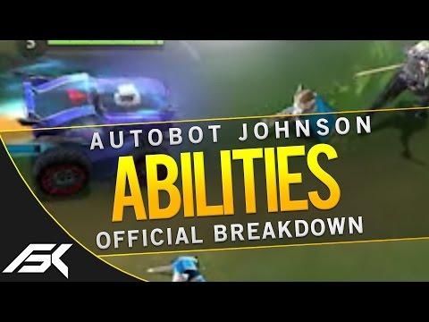 Mobile Legends: NEW HERO AUTOBOT JOHNSON ABILITIES BREAKDOWN