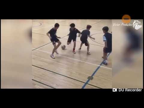 DRIBLES mágicos do futsal ||✓ HD
