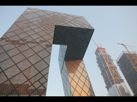 CCTV Headquarters & Beijing CBD Tour