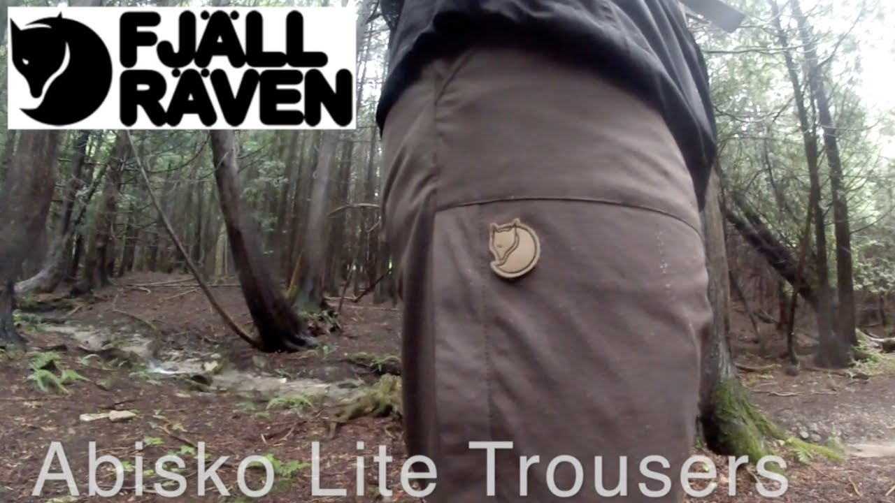Fjallraven Abisko Lite Trousers Tested & Reviewed