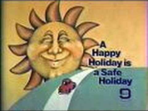 "WGN Channel 9 - ""A Happy Holiday Is A Safe Holiday"" (Bumper, 1979)"