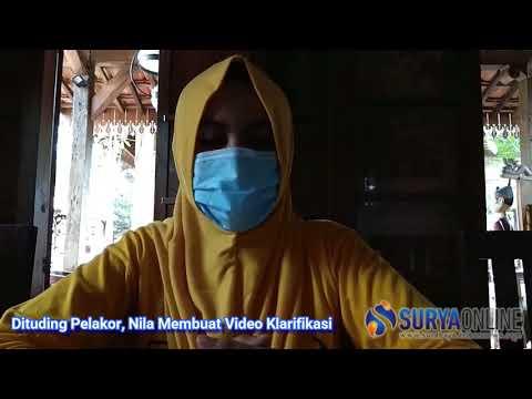 Klarifikasi Nila, Wanita dalam video