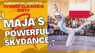 Maja Kuczyńska - Wind Games 2017 - Skydance - Powerful (Major Lazer)