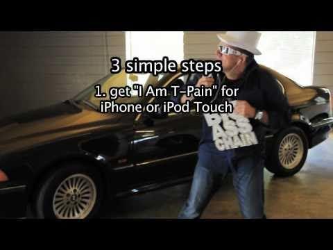 Smule | I Am T-Pain iPhone app [T-Pain Dialer]