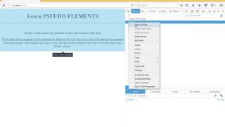 Cascading Style Sheets PSEUDO ELEMENTS الدرس السابع عشر