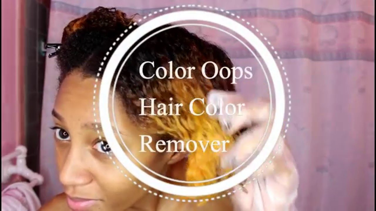 Oops Hair Color Remover Cvs Hairstyle Inspirations 2018