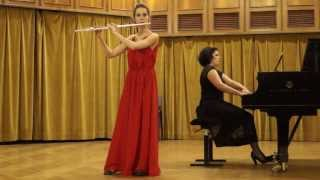 W.A. Mozart- Andante In C K.315 for flute and piano