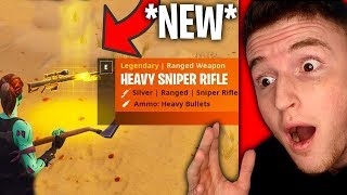 *NEW* HEAVY SNIPER COMING TO FORTNITE! (Amazing)