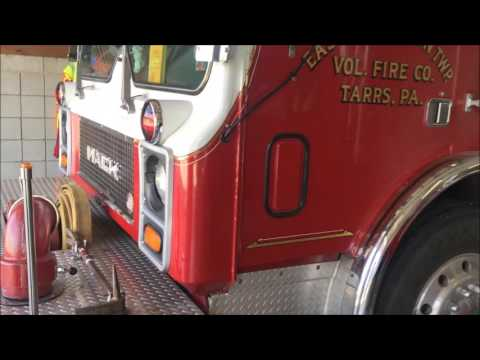 WALK AROUND OF EAST HUNTINGDON TOWNSHIP VOLUNTEER FIRE CO. ENGINE 74-1 IN QUARTERS IN ALVERTON, PA.