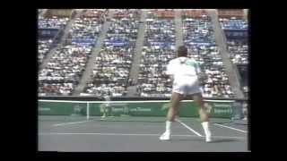 1990年ジャパンオープン3日目 当時世界ランキング1位のイワン・レンドル...