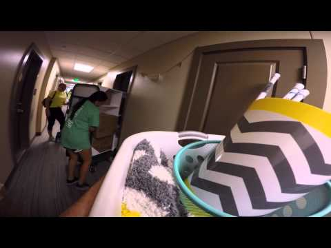 University of North Alabama Move-In Day 2015