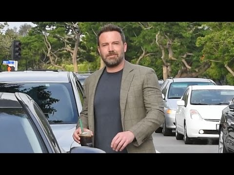 Ben Affleck Flashes A Smile When Asked If He's Moved Out Of The Family Home