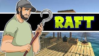 Sobreviviendo en una balsa!!   RAFT Ep. 1