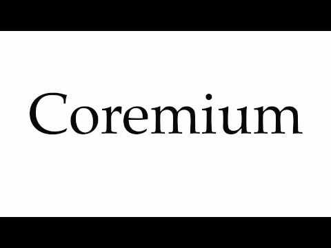 Header of coremium