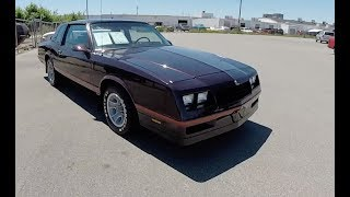 1987 Chevrolet Monte Carlo SS|Walk-Around Video|In-Depth Review