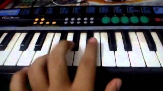 Jodha akbar serial title song piano tutorial