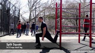 Calisthenics Routine: Leg Workout