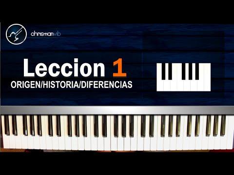 Cómo tocar Piano para Principiantes / CURSO COMPLETO: Lección 1 (HD) Tutorial - Christianvib