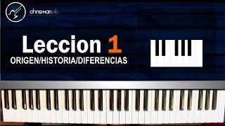 Cómo tocar Piano para Principiantes / CURSO COMPLETO: Lección 1 (HD) Tutorial - Christianvib thumbnail