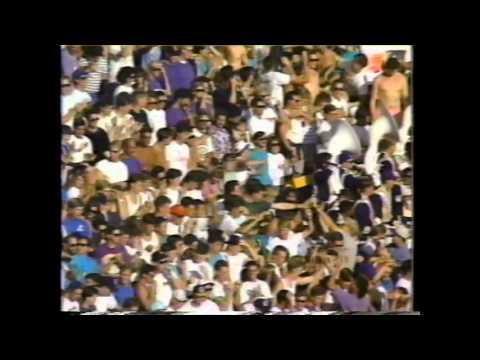 The Perfect Season 12-0 #1 UW 1991 National Champions