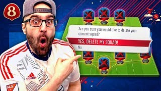 OMG RIP! DELETING MY WORLD CUP SQUAD!! - FIFA 18 DRAFT TO GLORY #08