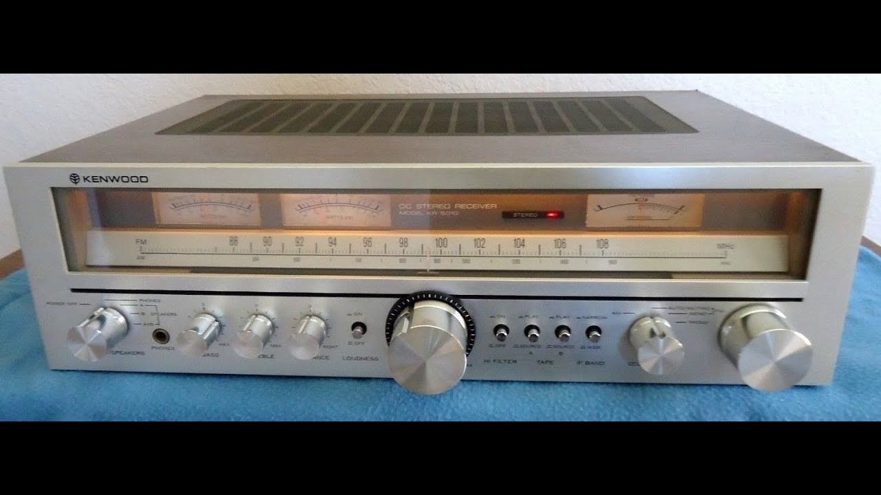 Kenwood Kr-5010 Stereo Receiver