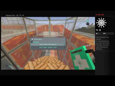 Minecraft floating world tour