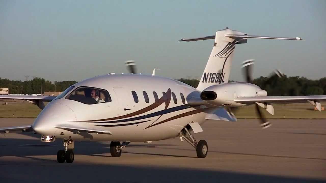 piaggio aero p180 avanti ii at the dupage airport on 6-25-2012