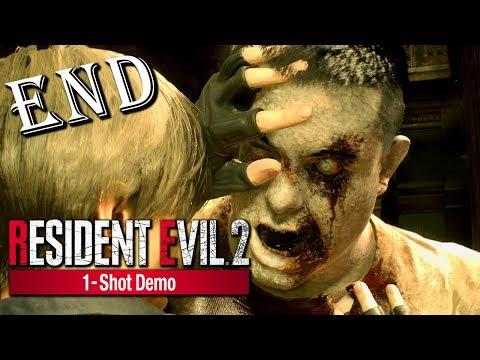 Resident Evil 2 Remake 1-Shot Demo《惡靈古堡2重製版》解鎖所有保險櫃&體驗版結局