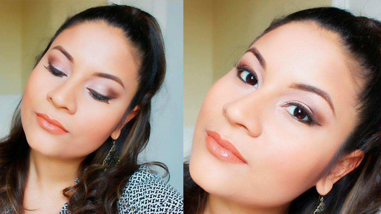Maquillaje de ojos paso a paso para el d a natural principiantes maquillaje profesional - Ojos ahumados para principiantes ...