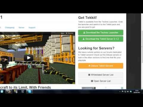 How To Setup A Minecraft Tekkit Server (All Versions) by